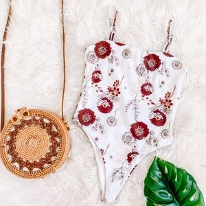 Charlie Holiday Floral One Piece Swimsuit